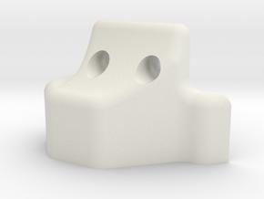 TF2 VFD Scale V8 Engine - Oil Pan in White Natural Versatile Plastic