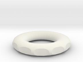 small rodin marko coil for wrapping DIY 5 cm 1.96  in White Natural Versatile Plastic