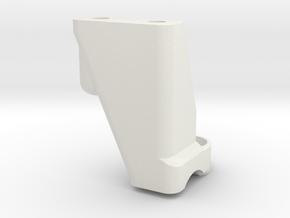 Axial Capre Shift Mount Front in White Natural Versatile Plastic