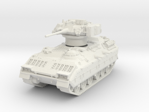 M2A1 Bradley (TOW retracted) 1/87 in White Natural Versatile Plastic