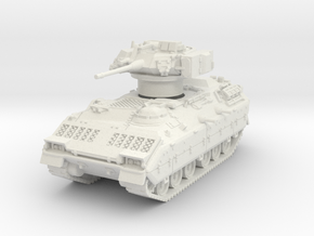 M2A1 Bradley (TOW retracted) 1/56 in White Natural Versatile Plastic
