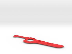 Xenoblade Monado in Red Processed Versatile Plastic