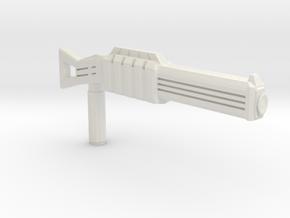 Power shotgun in White Natural Versatile Plastic