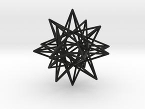 mohamed star design in Black Natural Versatile Plastic