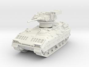 M2A1 Bradley (TOW raised) 1/76 in White Natural Versatile Plastic