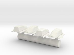 Hornet Class Shuttle craft in White Natural Versatile Plastic