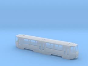 Tatra B6A2M H0 [body] in Smooth Fine Detail Plastic