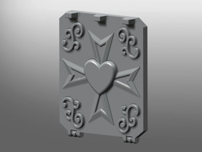 Order of the Crucified Heart Rhinoceros mk.2 Door in White Processed Versatile Plastic: Small
