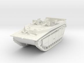LVT-4 (MG flat shield) 1/100 in White Natural Versatile Plastic