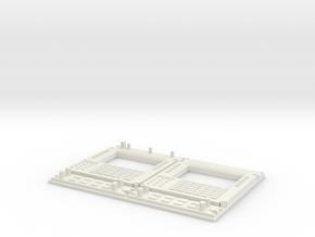 1.6 COCKPIT EC 145 DASH BOARD 2 in White Natural Versatile Plastic