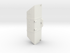 Axial Capra Fuel Cell (RX Holder): Main Body in White Natural Versatile Plastic