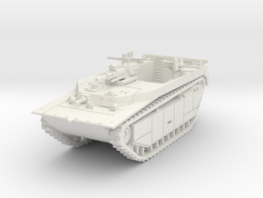 British LVT-4 (MG flat shield) 1/87 in White Natural Versatile Plastic