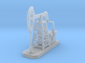Oil Pump Jack 1/87 in Smooth Fine Detail Plastic