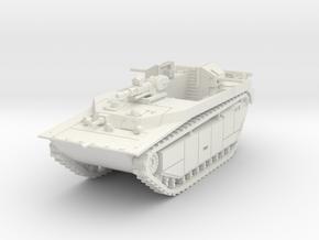 British LVT-4 (MG box shield) 1/87 in White Natural Versatile Plastic