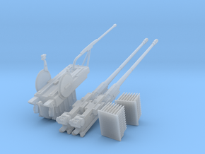 Oerlikon Twin Gun 35mm Modul 6 Weapon cradle and W in Smooth Fine Detail Plastic: 1:35