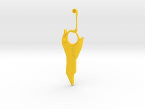 nopon sword of legendaryness in Yellow Processed Versatile Plastic