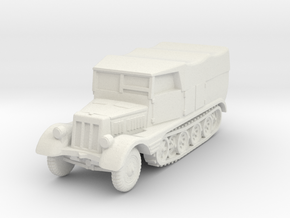 Sdkfz 11 (covered) 1/100 in White Natural Versatile Plastic