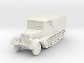 Sdkfz 11 (covered) 1/76 in White Natural Versatile Plastic