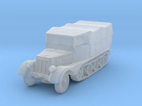 Sdkfz 11 (covered) 1/200 in Smooth Fine Detail Plastic