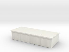 4 Slots Garage 1/200 in White Natural Versatile Plastic