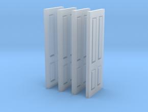 Interior Panel Doors (4) in Smooth Fine Detail Plastic