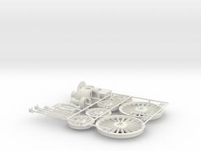 L&NWR No. 153 Accessories in White Natural Versatile Plastic
