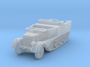 Sdkfz 11 (open) (window down) 1/160 in Smooth Fine Detail Plastic
