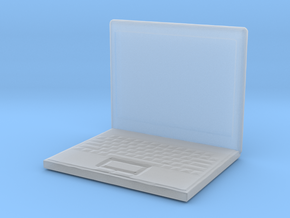 Printle Thing Laptop - 1/72 in Smooth Fine Detail Plastic