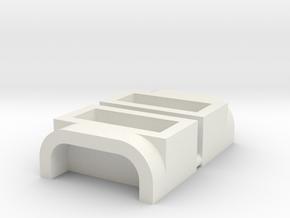 Nikko F10 Frame Buggy Sear Lobo, battery door reta in White Natural Versatile Plastic