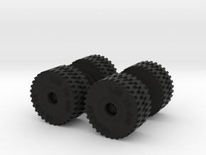 Reifen 16.00-25 TR900 in Black Natural Versatile Plastic: 1:87 - HO