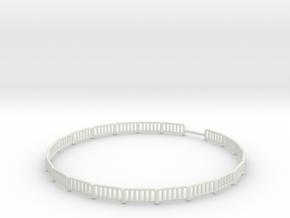 55FOOTFEMCENOGATES1.25 inch gap in fence in White Natural Versatile Plastic