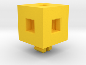 Minecraft Gold Pickaxe in Yellow Processed Versatile Plastic
