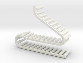 MG151/20    20x92  Belt in White Natural Versatile Plastic
