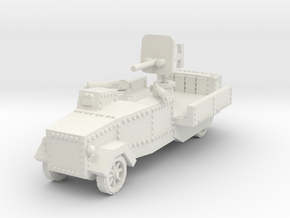 Seabrook Armoured Lorry 1/100 in White Natural Versatile Plastic