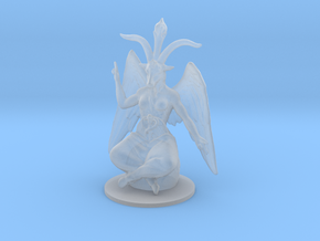 Baphomet Classic DnD miniature fantasy games rpg in Smooth Fine Detail Plastic