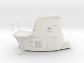 1/24 Uboot II/B Conning Tower in White Natural Versatile Plastic