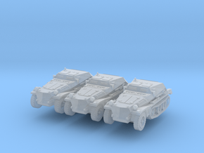 Sdkfz 252 (x3) 1/285 in Smooth Fine Detail Plastic