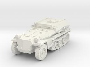 Sdkfz 253 1/72 in White Natural Versatile Plastic