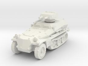 Sdkfz 253 with Pz I Turret 1/120 in White Natural Versatile Plastic