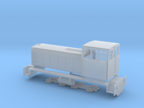 TU7 diesel locomotive in Smooth Fine Detail Plastic: 1:87 - HO
