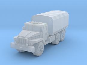 Ural-375 1/100 in Smooth Fine Detail Plastic