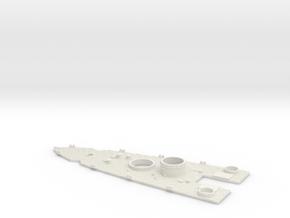 1/600 USS Nevada (1941) Stern Deck in White Natural Versatile Plastic