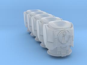 Custom Enclave Torsos 5 Peices in Smooth Fine Detail Plastic