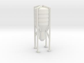 Grain Silo 1/200 in White Natural Versatile Plastic