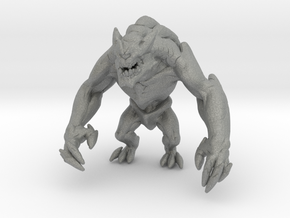 Cyclops giant monster 55mm miniature games rpg in Gray PA12