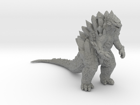 Crystal Lizard 55mm kaiju monster miniature games  in Gray PA12