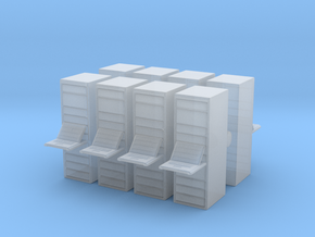 Computer Server (x8) 1/220 in Smooth Fine Detail Plastic