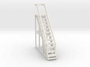 LIBRARY_STAIRS in White Natural Versatile Plastic