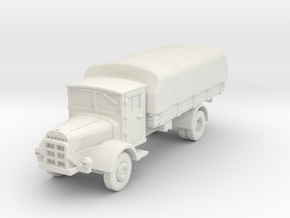 Mercedes L4500 S (covered) 1/87 in White Natural Versatile Plastic