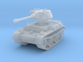 Panzer II L Puma turret 1/285 in Smooth Fine Detail Plastic
